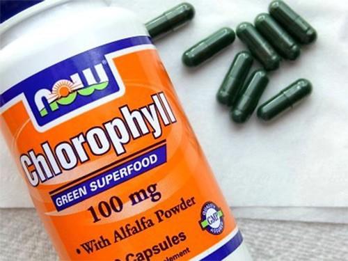 хлорофил в капсулах