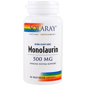 Solaray, Монолаурин, 500 мг
