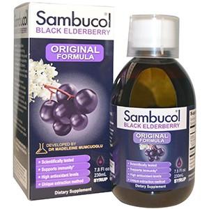 Sambucol, Черная бузина, оригинальная формула