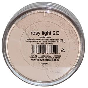 Everyday Minerals, Матовая основа, светло-розовый 2C