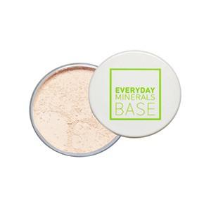Everyday Minerals, Полуматовая (Semi-Matte) рассыпчатая основа под макияж, Бежевый тон 3N