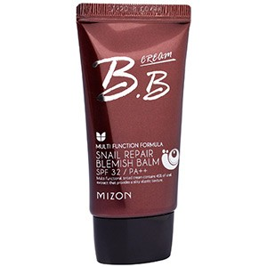 Mizon, Улиточный восстановительный бальзам от пятен, крем BB с фактором защиты от солнца SPF 32