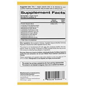 California Gold Nutrition, Пробиотики LactoBif, 5 млрд КОЕ