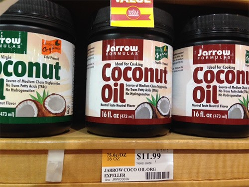 jarrow coconut oil