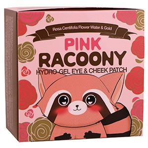 Secret Key, Pink Racoony Hydro Gel Eye & Cheek Patch