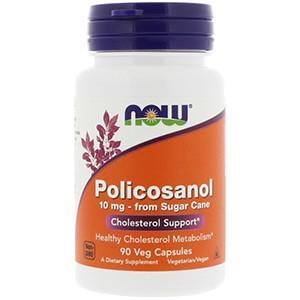 Now Foods, Поликосанол, 10 мг