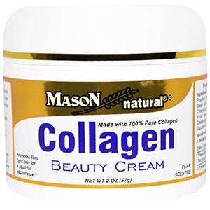 Mason Naturals, Крем с коллагеном, с ароматом груши