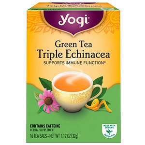 Yogi Tea, Зеленый чай