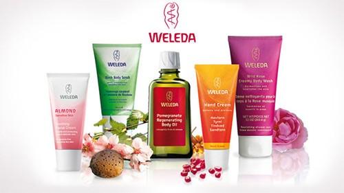 Самые популярные продукты компании Weleda, представленные на сайте iHerb