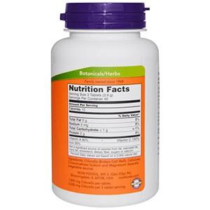 Now Foods, Хлорелла, 1000 мг двойной силы
