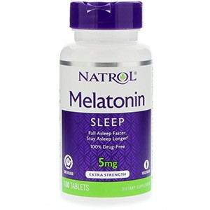 Natrol, Melatonin, Time Release