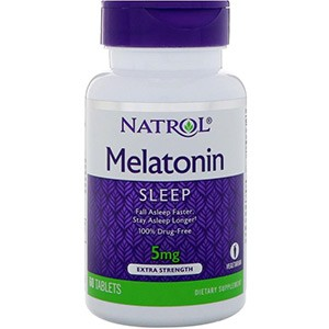 Natrol, Мелатонин, Экстра сила