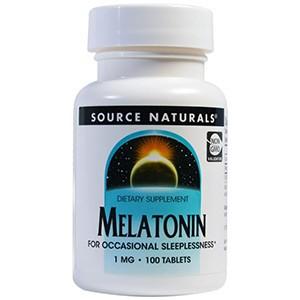 Source Naturals, Мелатонин