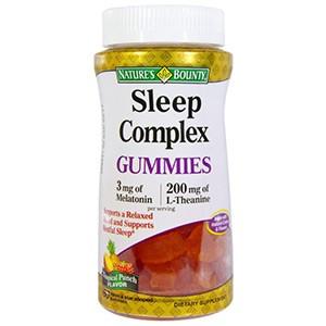 Nature's Bounty, Жевательные конфеты Sleep Complex с ароматом тропических фруктов