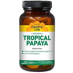Country Life, Natural, тропическая папайя