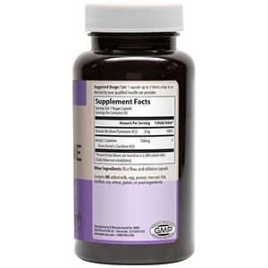 MRM, Ацетил L-карнитин, 500 мг