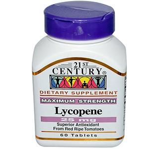 21st Century, Ликопин, максимальная эффективность, 25 мг