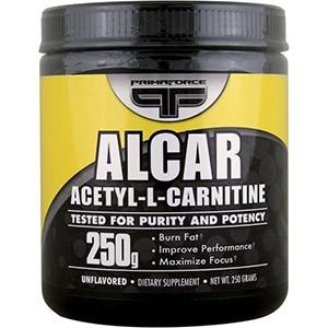 Primaforce, Alcar, Ацетил-Л-карнитин в порошке без вкуса, 250 г