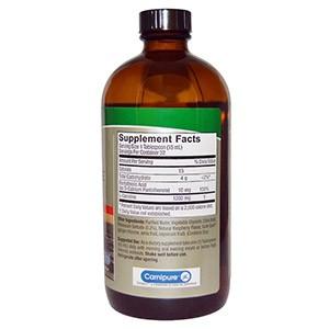 Nature's Answer, Жидкий L-карнитин, натуральный малиновый ароматизатор, 480 мл