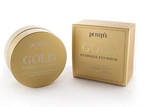 Омолаживание кожи вокруг глаз с помощью патчей с золотым гидрогелем от Petitfee