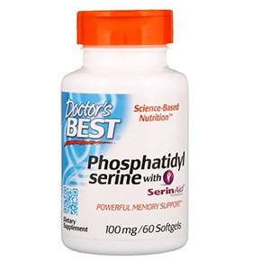Doctor's Best, Лучший фосфатидилсерин с SerinAid