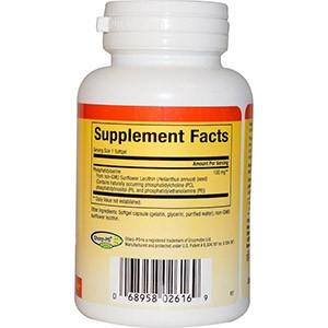 Natural Factors, Фосфатидилсерин 100 мг