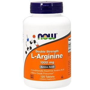 Now Foods, L-аргинин, 1000 мг