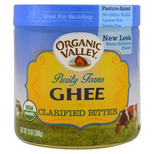 Organic Valley Purity Farms, Органическое очищенное топленое масло