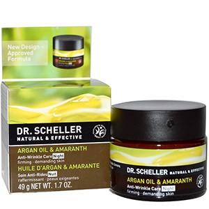 Dr. Scheller, Ночной крем против морщин, с маслом арганы и амарантом