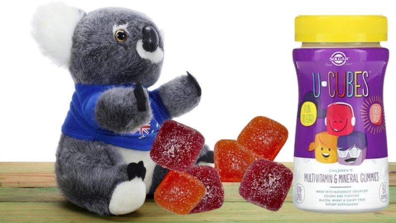 Solgar, U-Cubes, жевательные конфеты для детей