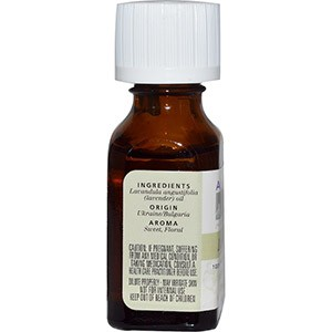 Aura Cacia, 100% Чистое эфирное масло, лаванда