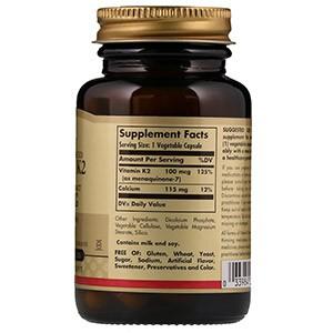 Solgar, Натуральный витамин K2