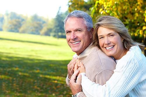 счасливые пенсионеры