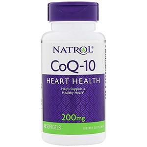 Natrol, Коэнзим Q10, 200 мг