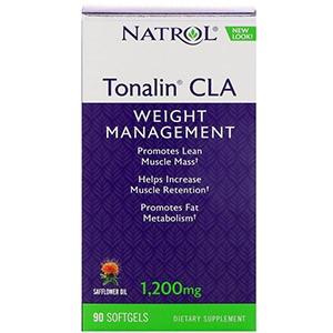 Natrol, Tonalin с содержанием сопряженной линолевой кислоты (CLA) с сафлоровым маслом