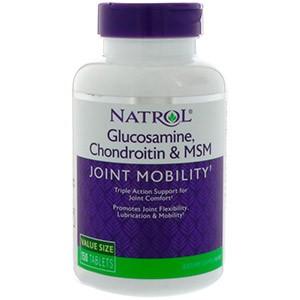 Natrol, Глюкозамин, хондроитин и МСМ