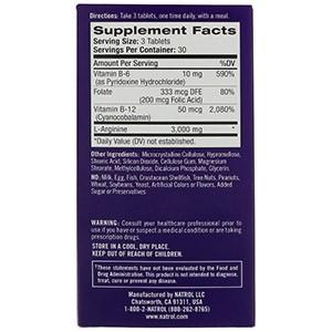 Natrol, L-аргинин, 3000 мг