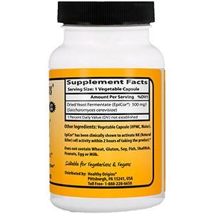 EpiCor, 500 мг от компании Healthy Origins для взрослых