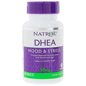 Natrol, DHEA, 50 мг