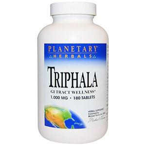 Planetary Herbals, Трифала, здоровье желудочно-кишечного тракта