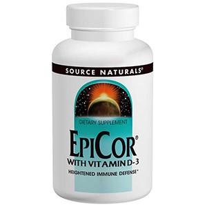 EpiCor с Витамином D3 от компании Source Naturals