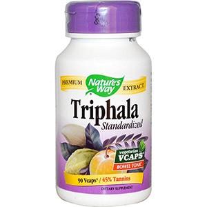 Nature's Way, Трифала, Стандартизированная Формула 90 овощных капсул