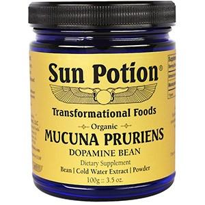 Sun Potion, Порошок Mucuna Pruriens, Органический