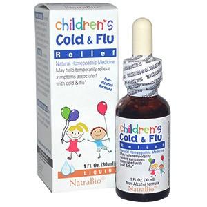 NatraBio, Средство от простуды и гриппа для детей