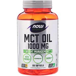 Nyní potraviny, sportovní výživa, MCT olej