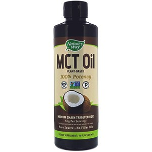 Nature's Way, Medium Chain Coconut Triglyceride Oil