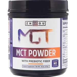 Zhou Nutrition, prebiotický Fiber MCT prášek