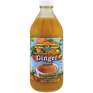 Dynamic Health Laboratories, Certified Organic Ginger