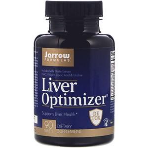 Jarrow Formulas, Для оптимального здоровья печени (Liver Optimizer)