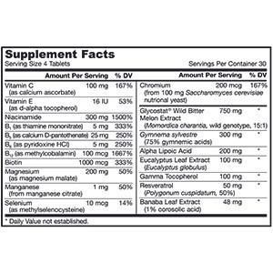 Jarrow Formulas,поддержка уровня глюкозы (Glucose Optimizer)